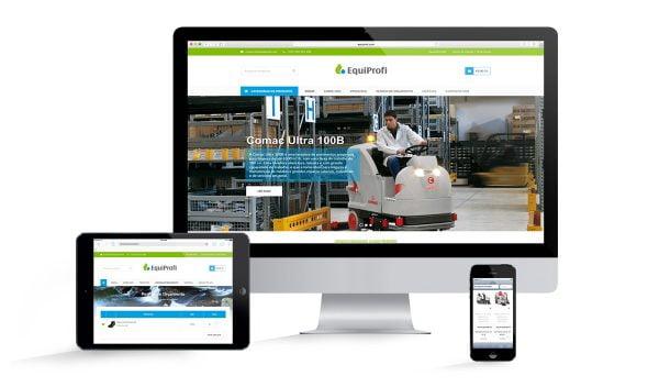 Novo Web Site e Loja Online EQUIPROFI - EQUIPROFI