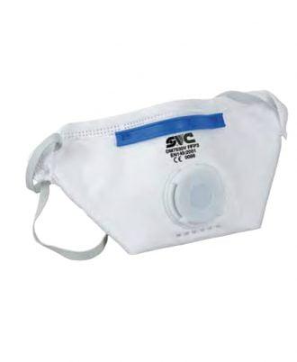 Máscara de Proteção FFP3 com válvula - EQUIPROFI