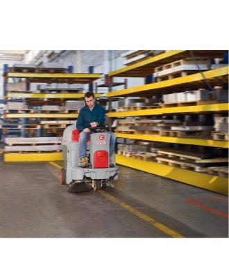 Varredora Industrial a Baterias Comac CS700-800