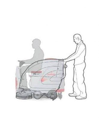 Lavadora de Pavimentos Comac Innova 55 B