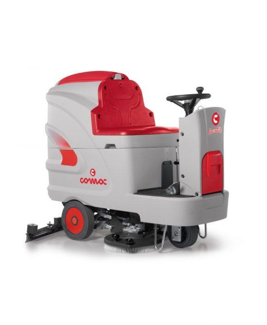 lavadora de pavimentos industrial comac innova
