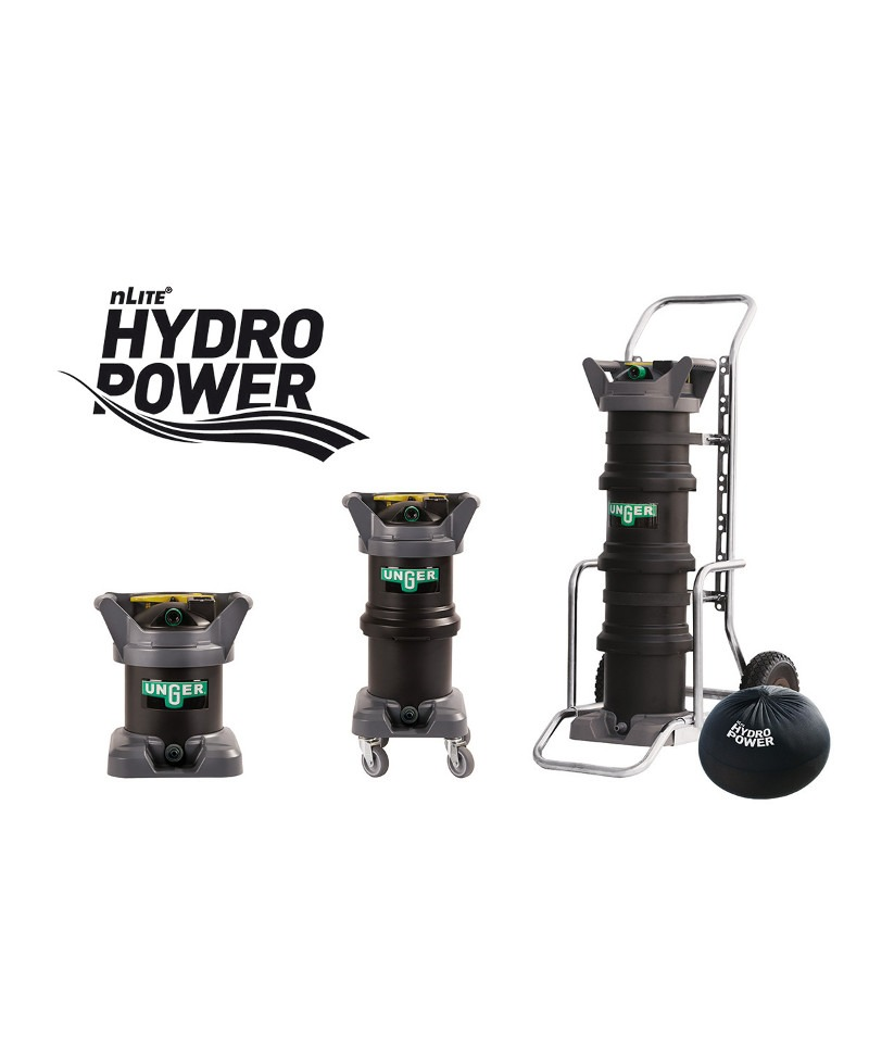 Limpeza de Vidros UNGER nLite Hydro Power DI - EQUIPROFI