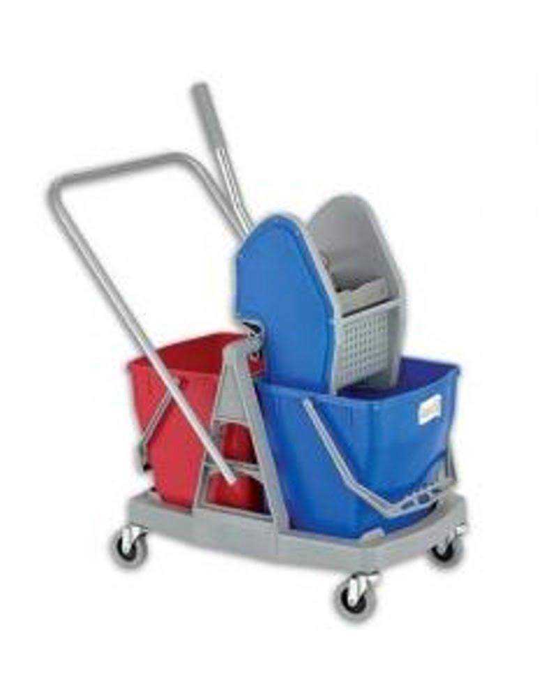 Carro de Limpeza DUO 30 litros com Espremedor - EQUIPROFI