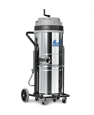 Aspirador Industrial Monofásico de 1 ou 2 motores 50 litros