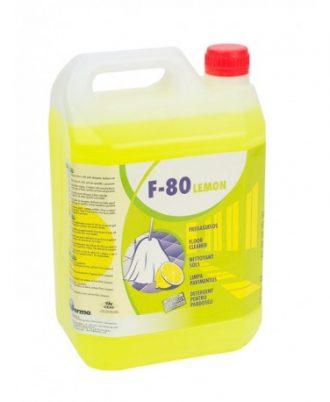 Detergente Multiusos F-80 Limão - EQUIPROFI