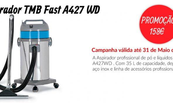PROMOÇÃO Aspirador TMB FAST A427 WD - EQUIPROFI