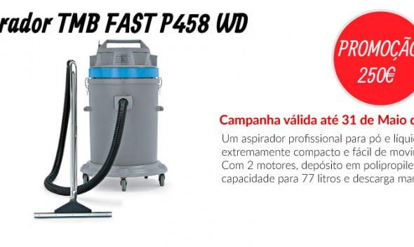 PROMOÇÃO Aspirador TMB FAST P458 WD - EQUIPROFI