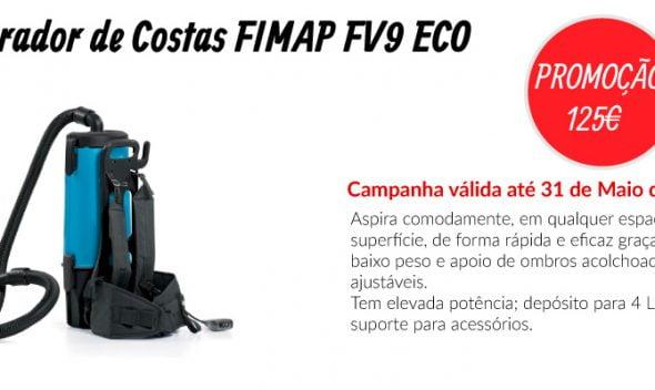 PROMOÇÃO Aspirador de Costas FIMAP FV9 ECO - EQUIPROFI