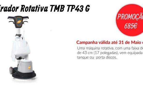 PROMOÇÃO Lavadora Rotativa TMB TP43 G - EQUIPROFI