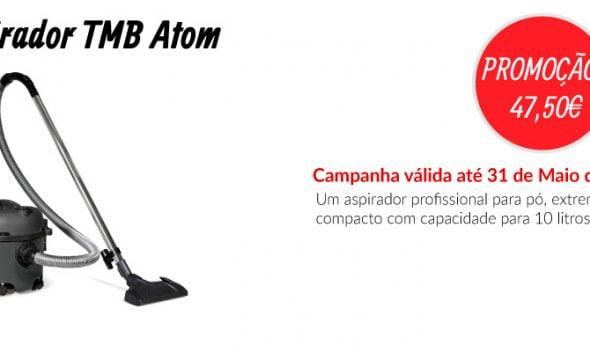 PROMOÇÃO Aspirador TMB Atom - EQUIPROFI