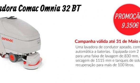 PROMOÇÃO Lavadora Comac Omnia 32 BT - EQUIPROFI