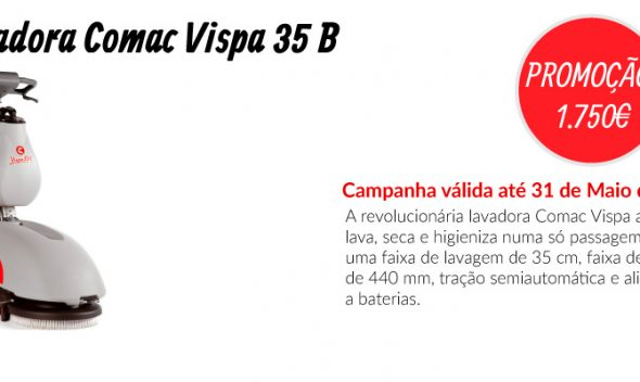 PROMOÇÃO Lavadora Comac Vispa 35 B - EQUIPROFI