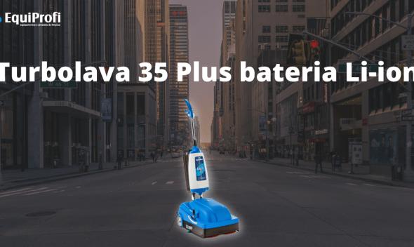 Turbolava 35 Plus bateria Li- ion